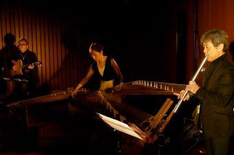 Yukihiko Mitsuka form TONE played Metal Shakuhachi -Katana