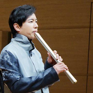 Dozan Fujiwara used AireedX Metal Shakuhachi at his sole Concert